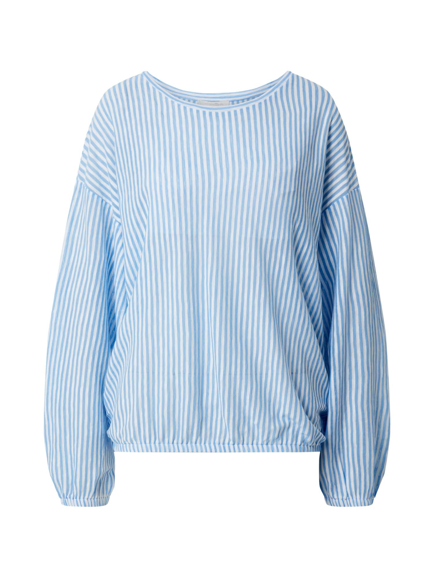 TOM TAILOR DENIM Tričko  modré / námornícka modrá