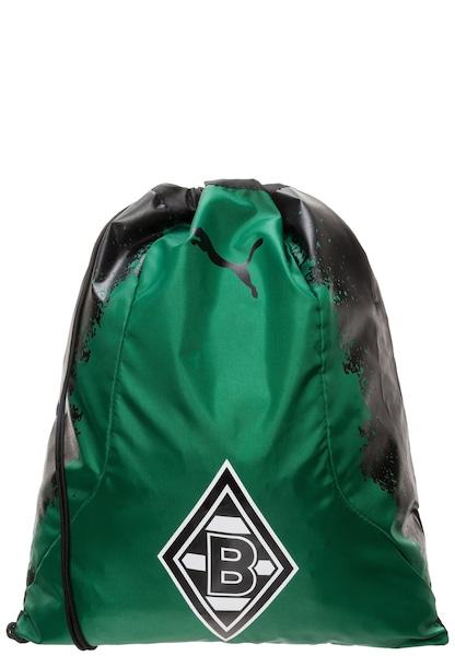 Sporttaschen für Frauen - PUMA Turnbeutel 'Borussia Mönchengladbach' grün schwarz  - Onlineshop ABOUT YOU