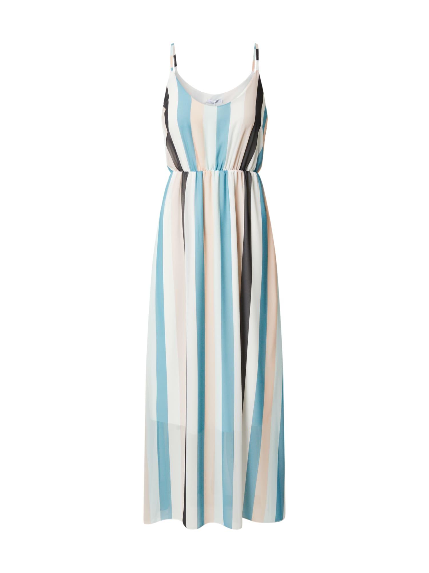 Hailys Letné šaty 'Sabrina'  jedľová / biela / nefritová