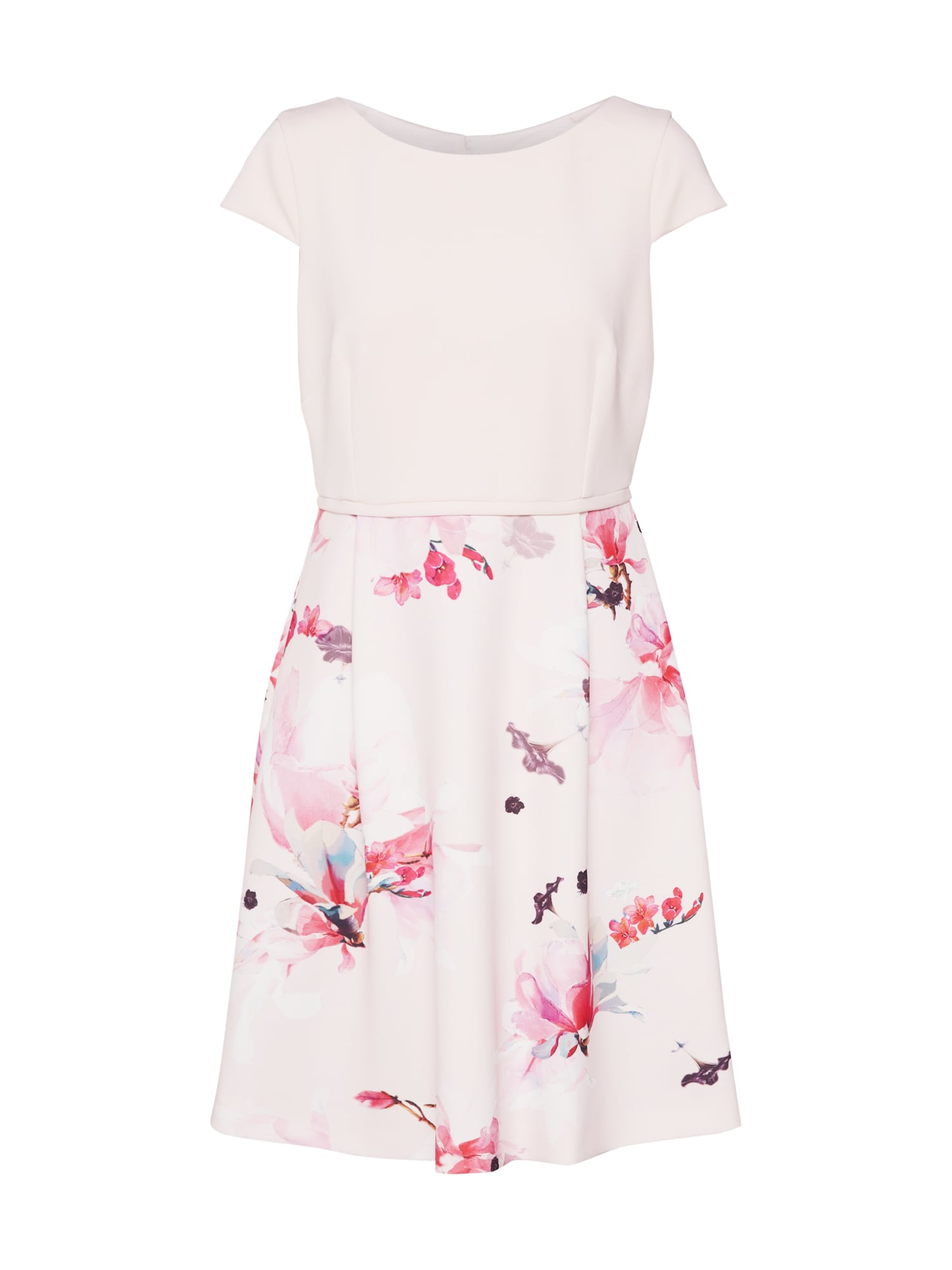 Letní šaty mix barev růže COMMA