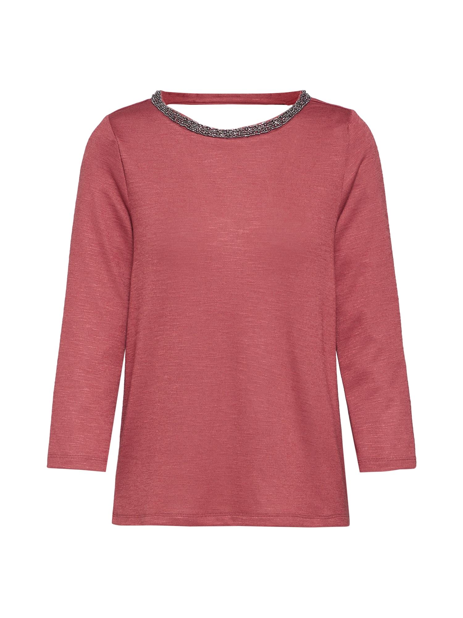 ONLY Marškinėliai rūdžių raudona