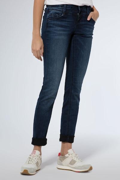 Hosen für Frauen - Destroyed Denim mit dunkler Waschung › Soccx › blau  - Onlineshop ABOUT YOU