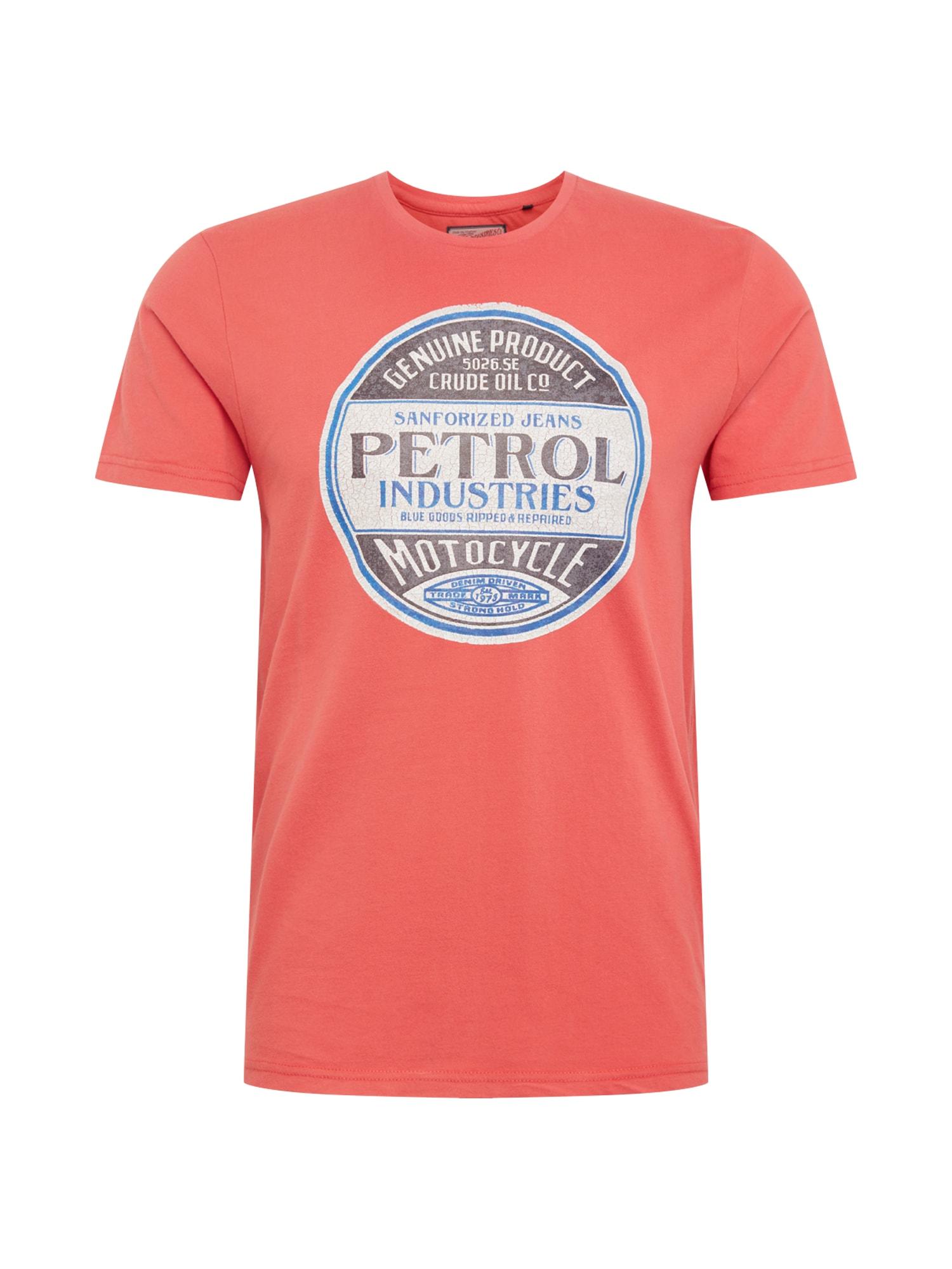 Tričko červená Petrol Industries