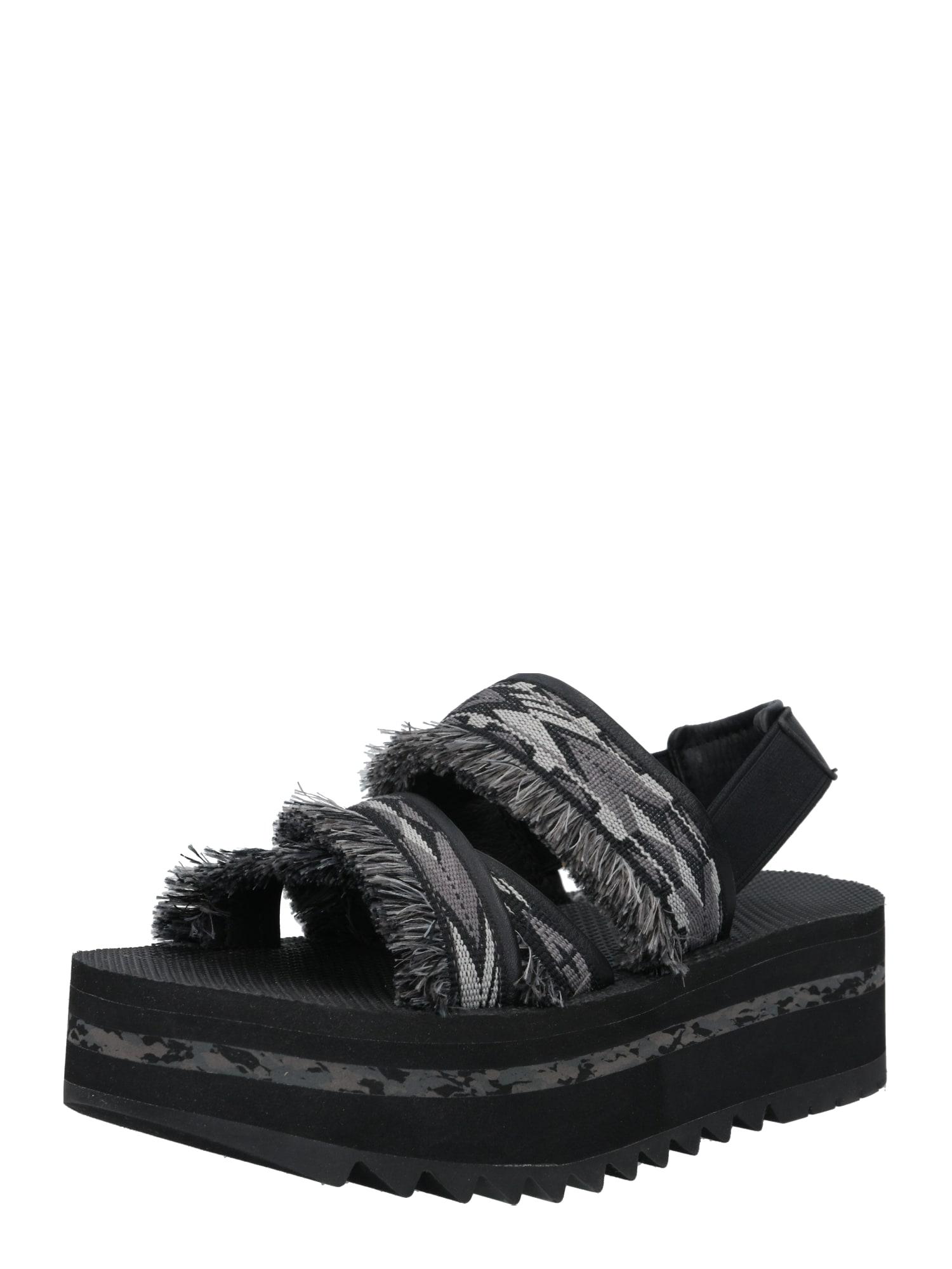TEVA Sandalai tamsiai pilka / šviesiai pilka / juoda