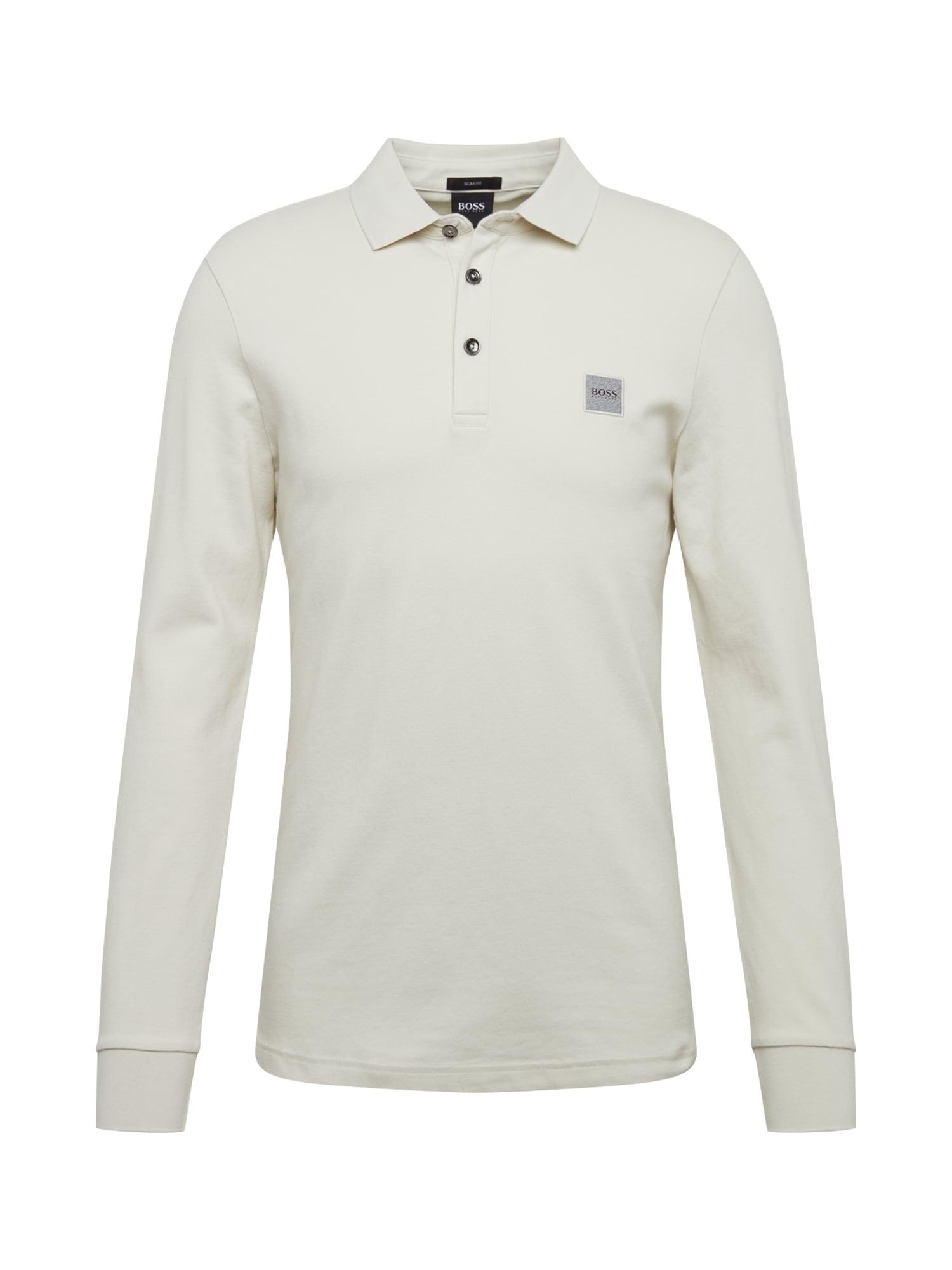 BOSS Marškinėliai 'Passerby' natūrali balta