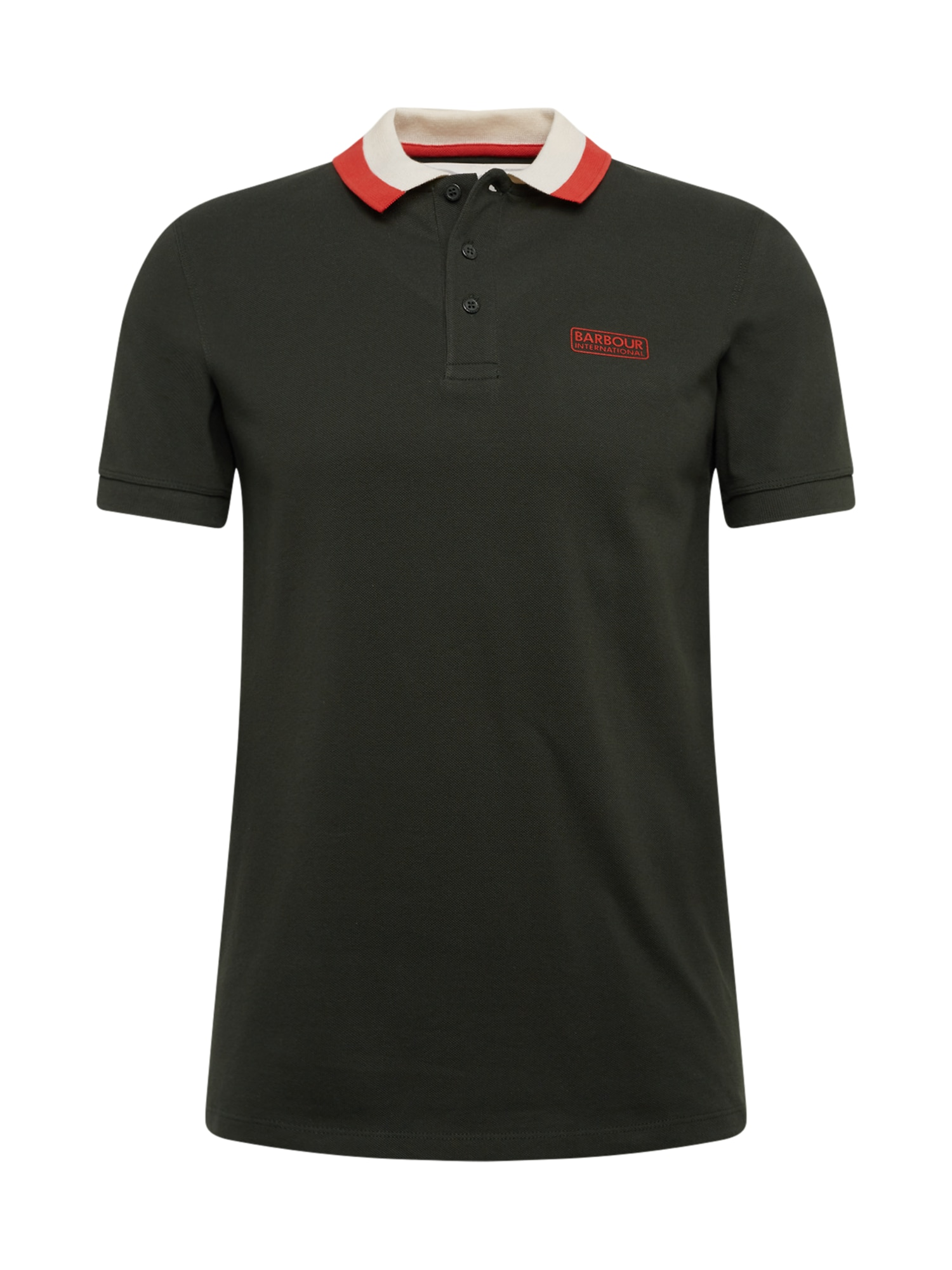 Barbour International Marškinėliai alyvuogių spalva