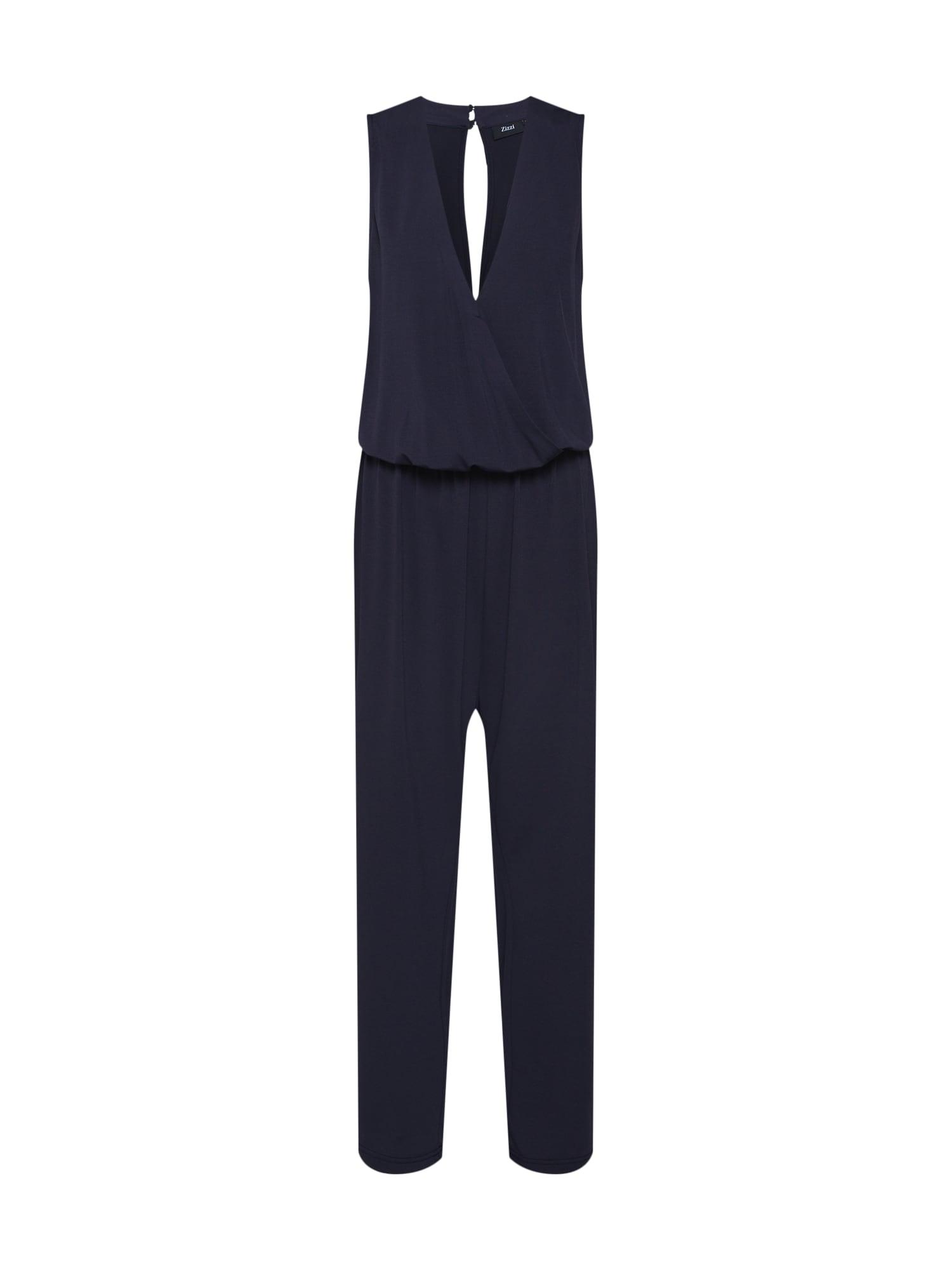 Zizzi Kombinezono tipo kostiumas 'XAMASSIK, S/L, JUMPSUIT' tamsiai mėlyna