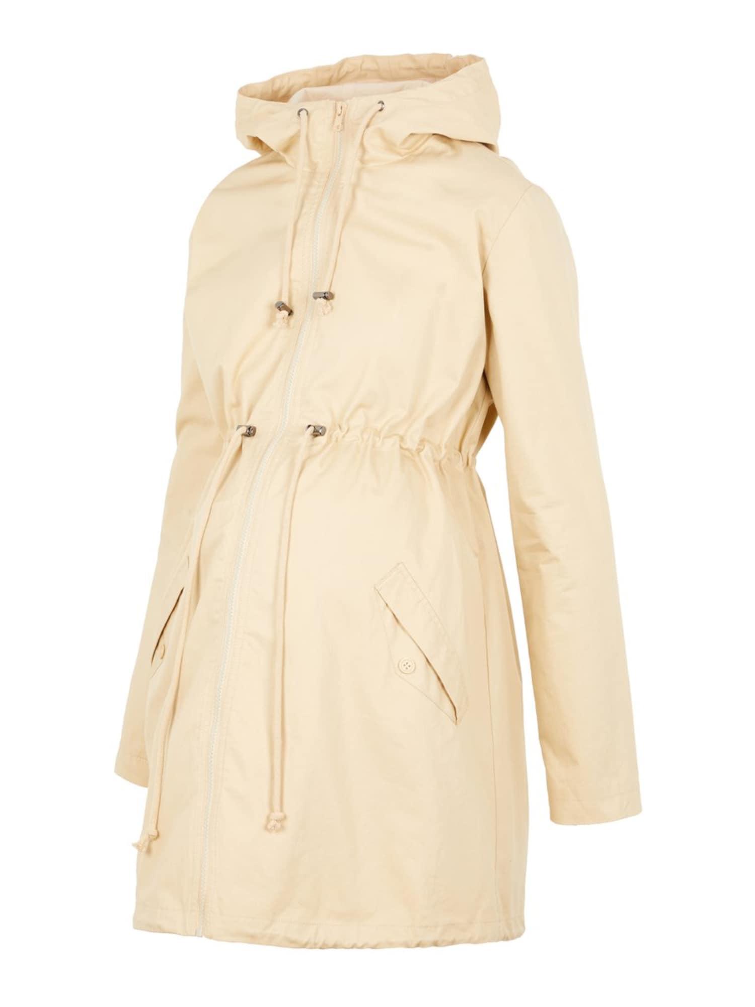 MAMALICIOUS Prechodný kabát  béžová