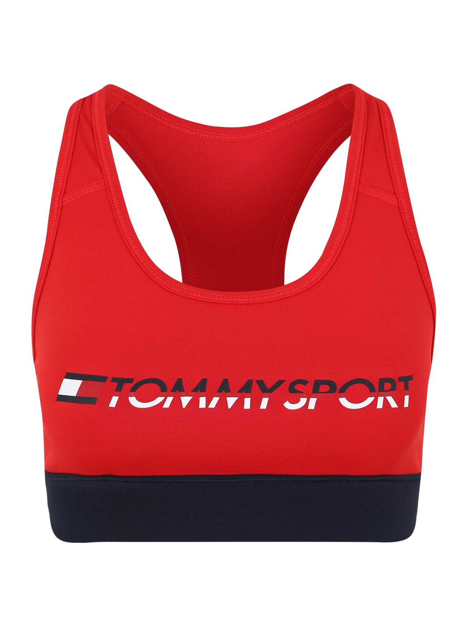 Sportovní podprsenka červená Tommy Sport