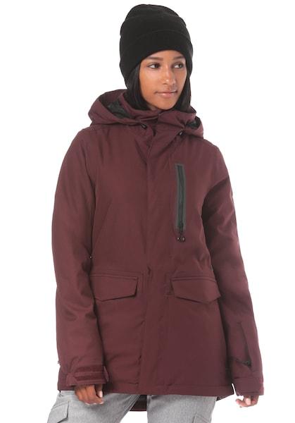 Jacken für Frauen - Volcom Snowboardjacke 'Shelter 3D Stretch' merlot  - Onlineshop ABOUT YOU