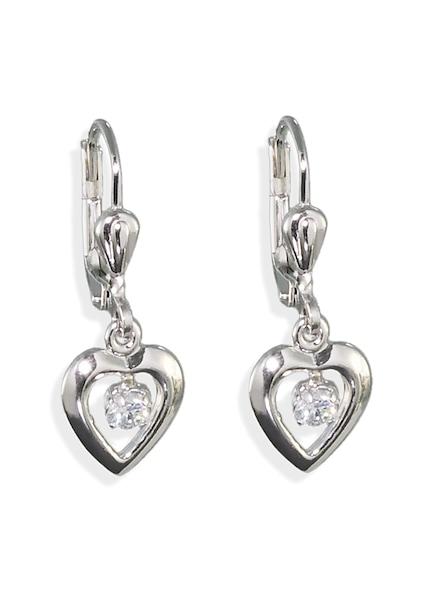 Ohrringe für Frauen - AMOR Ohrhänger 'Amor D09 9' silber  - Onlineshop ABOUT YOU