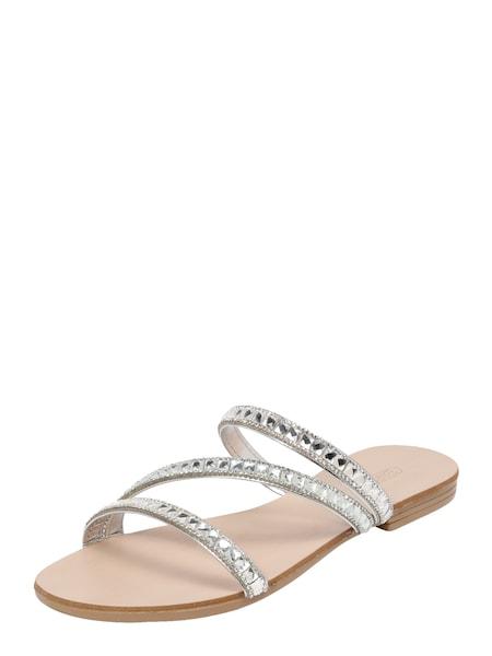 Sandalen für Frauen - ESPRIT Sandale 'Nil Juwel Slide' silber  - Onlineshop ABOUT YOU