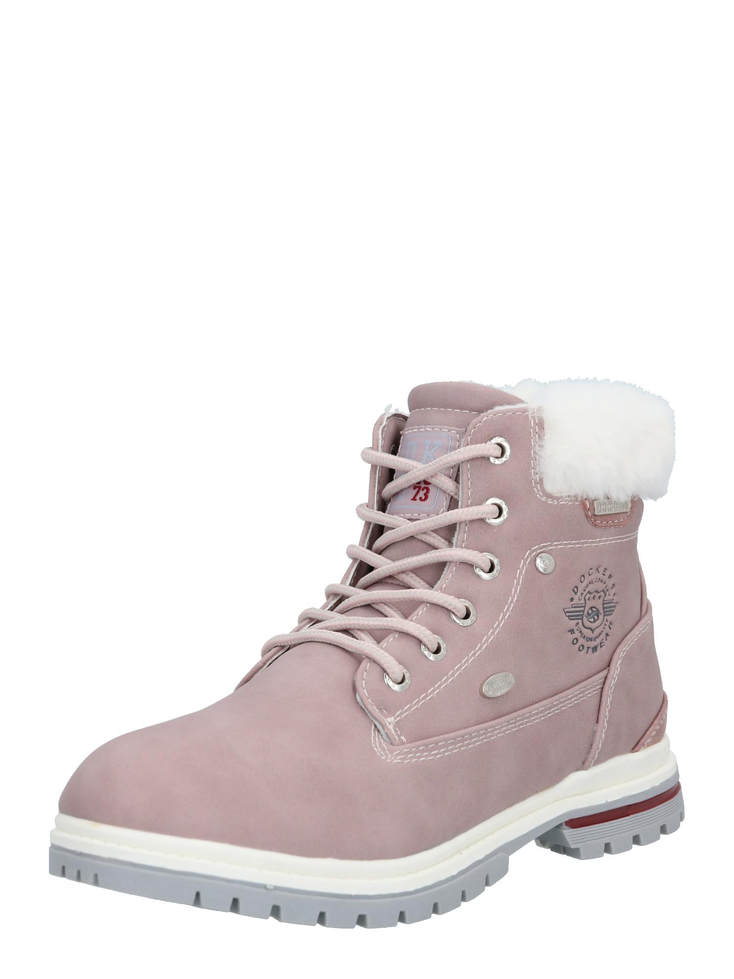 Dockers by Gerli Sniego batai rožių spalva