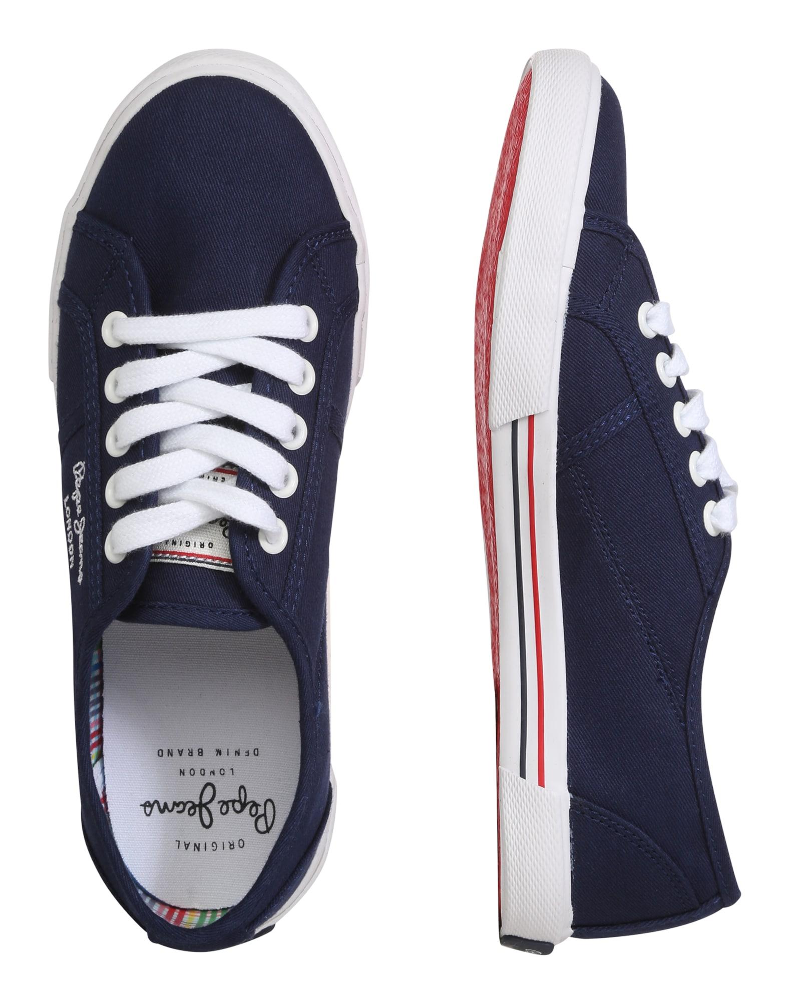 Pepe Jeans Låg sneaker  marinblå