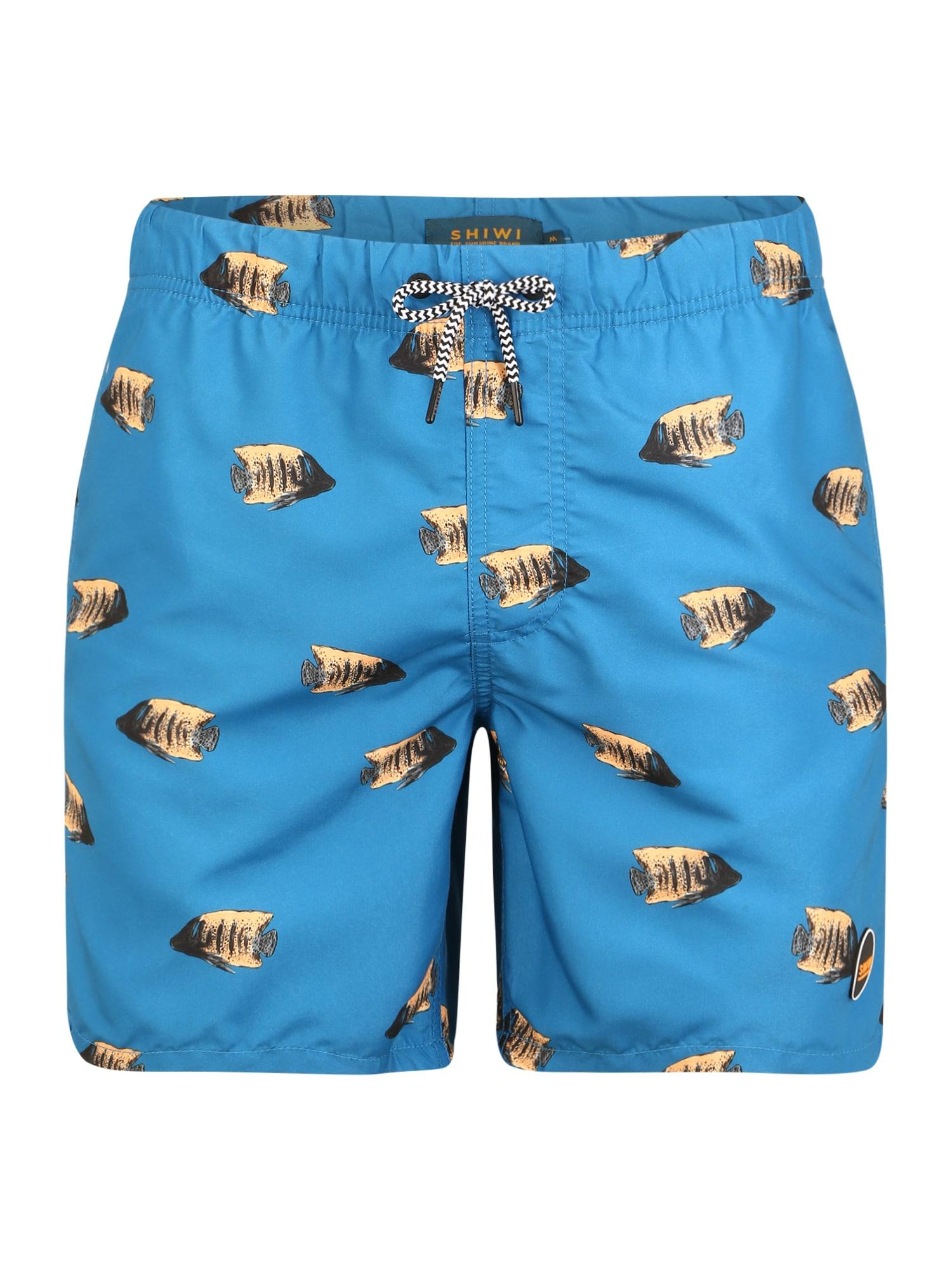 Shiwi Plavecké šortky 'moonfish'  modré
