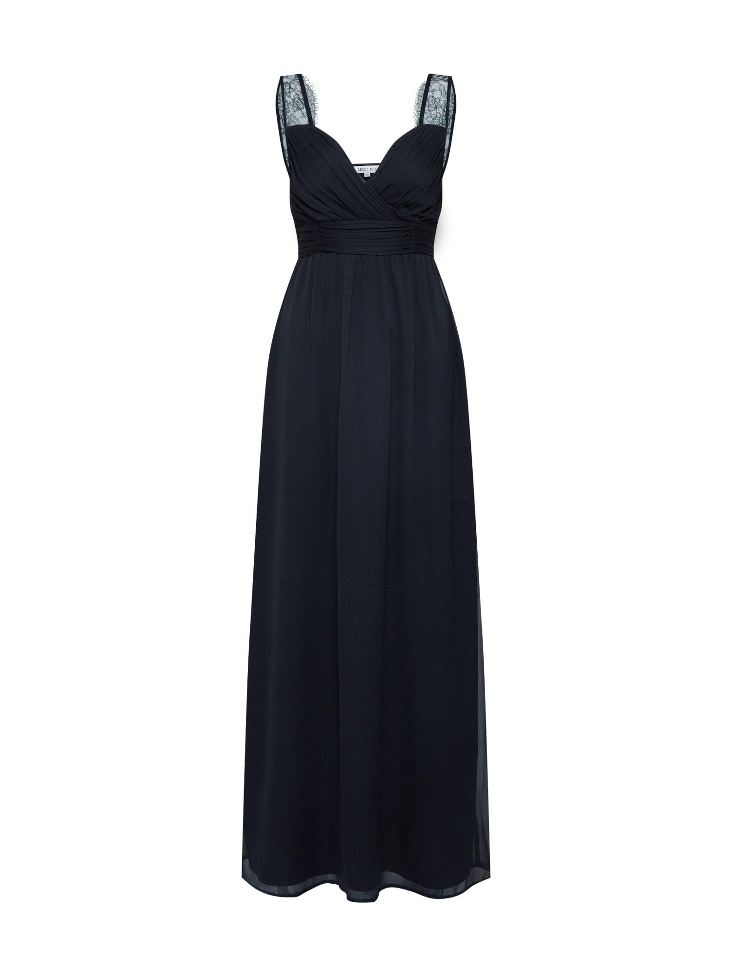 ABOUT YOU Vakarinė suknelė 'Luciana' juoda