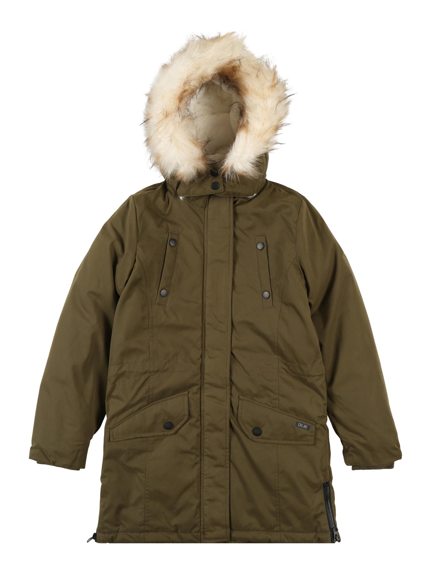 Cars Jeans Žieminė striukė rusvai žalia