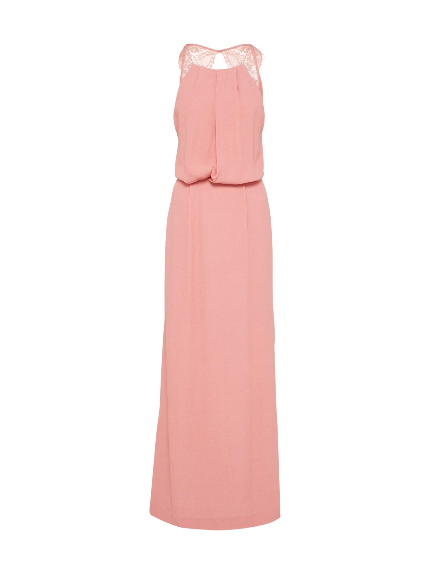Společenské šaty Willow 5687 růžová Samsoe & Samsoe