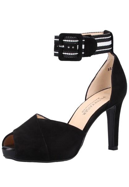 Sandalen für Frauen - PETER KAISER Sandale schwarz weiß  - Onlineshop ABOUT YOU