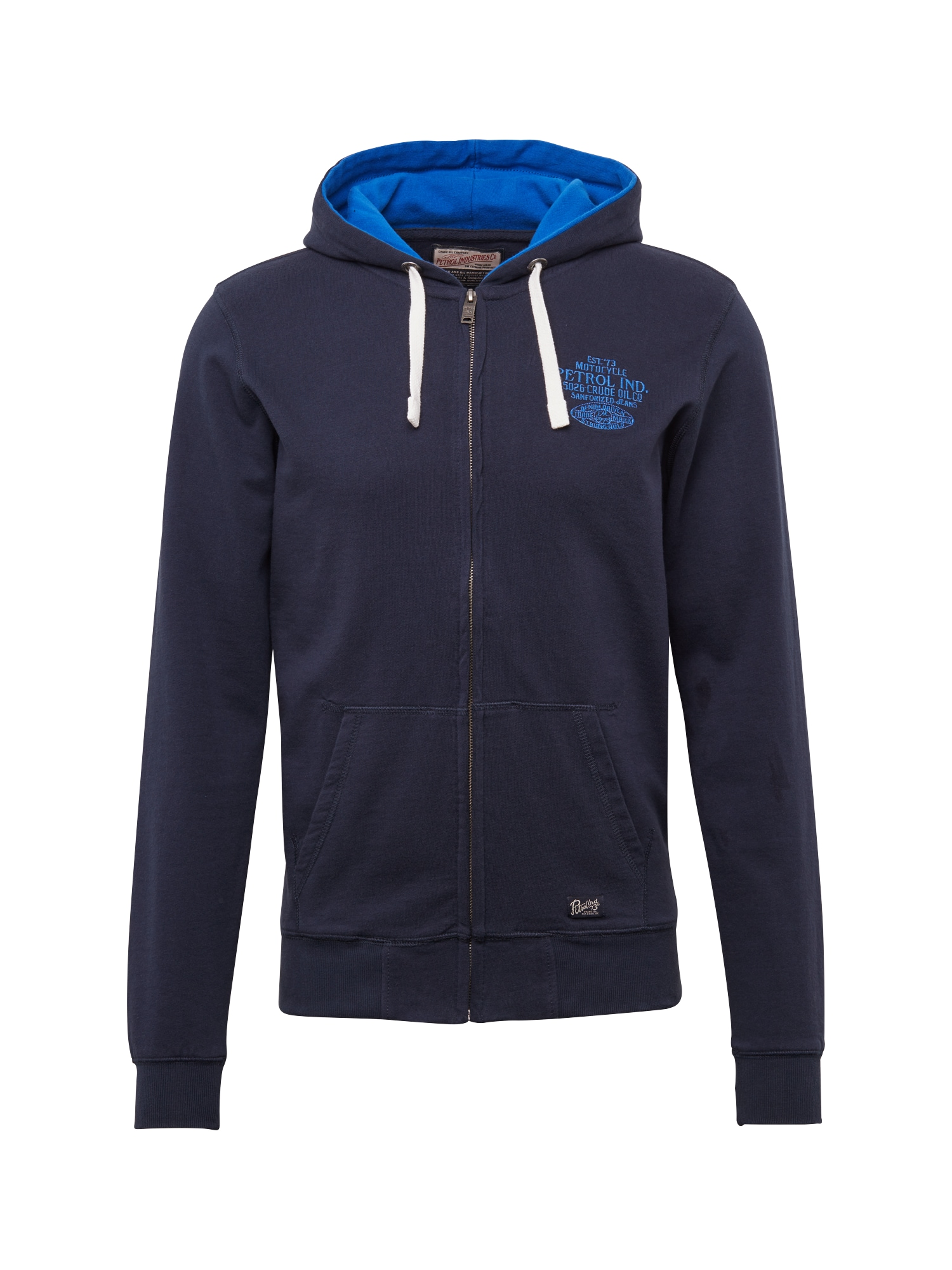 Mikina s kapucí tmavě modrá Petrol Industries