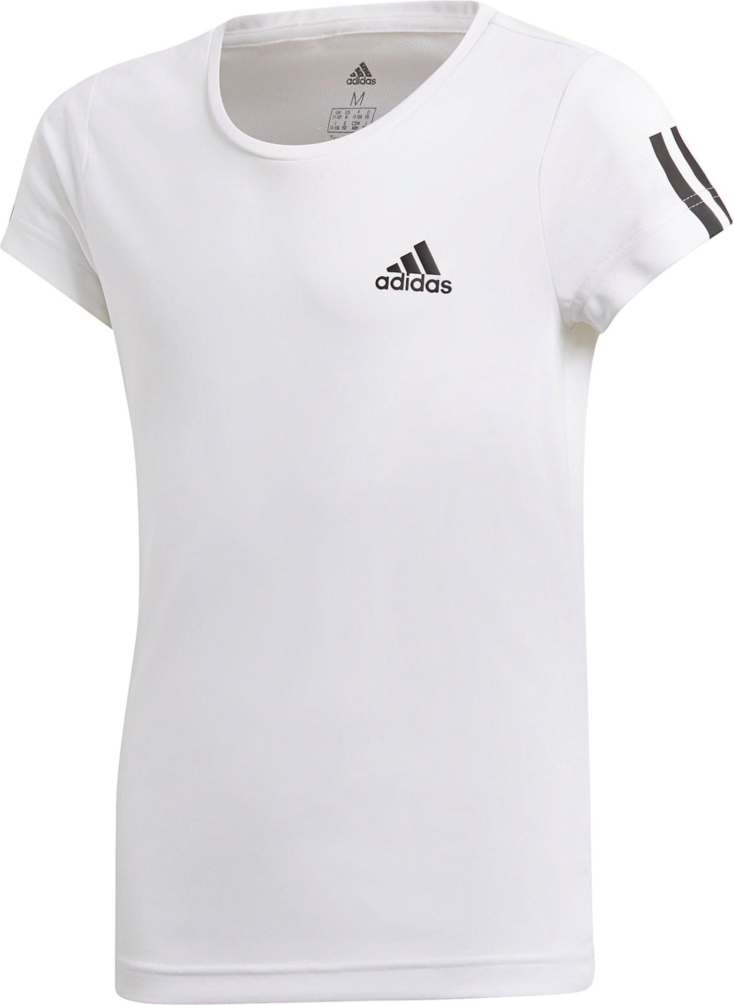 ADIDAS PERFORMANCE Sportiniai marškinėliai 'Young Girl' balta / juoda