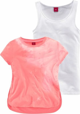 S.Oliver Junior T-Shirt (Set, 2 tlg., mit Top)