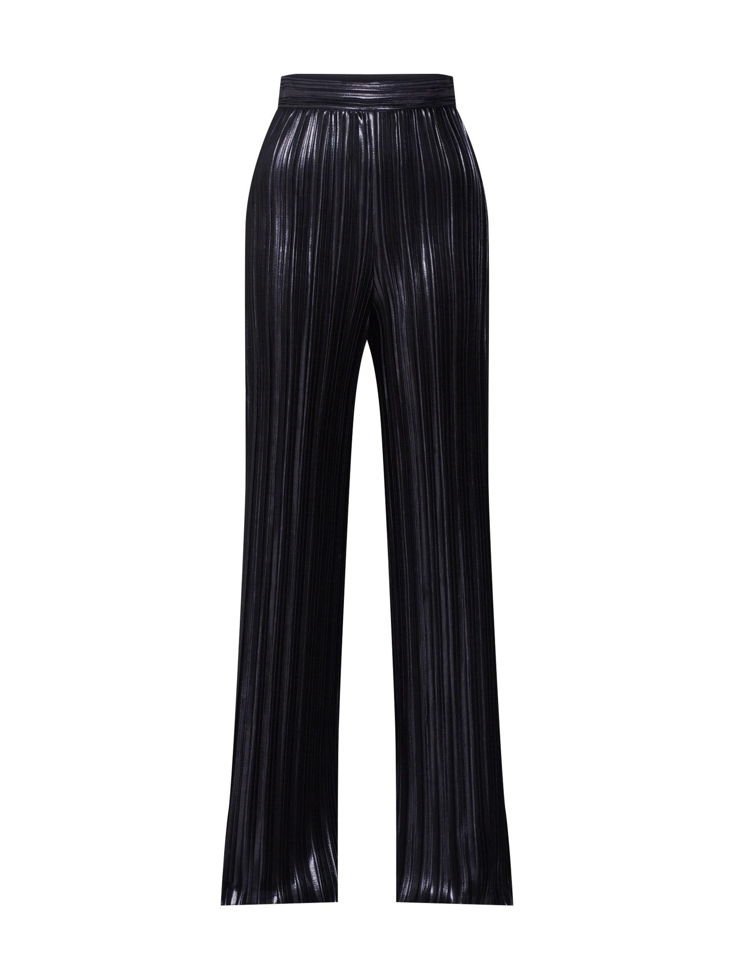HUGO Kalhoty 'Heplissa-1'  černá