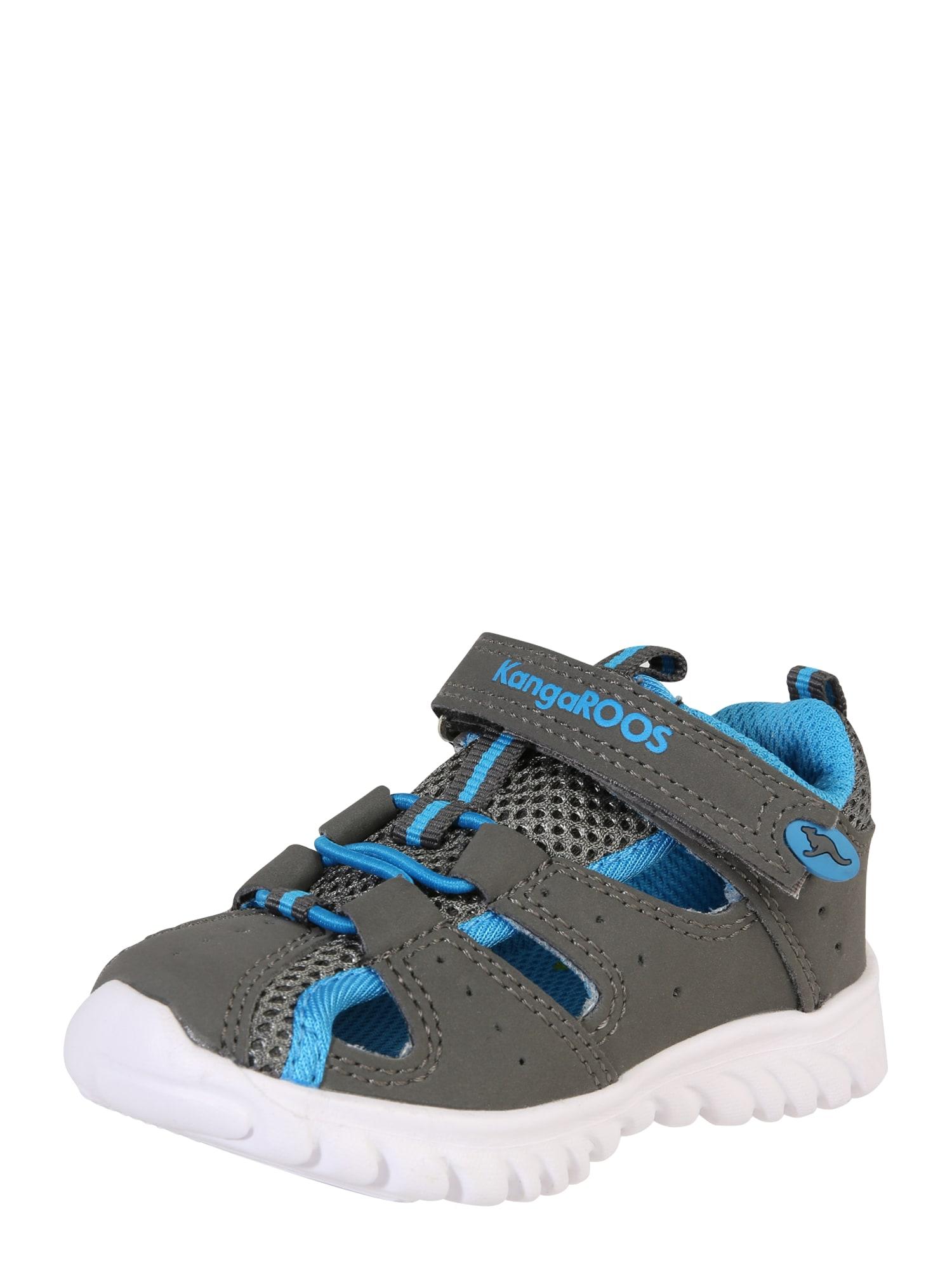 KangaROOS Atviri batai 'Rock lite' mėlyna / pilka