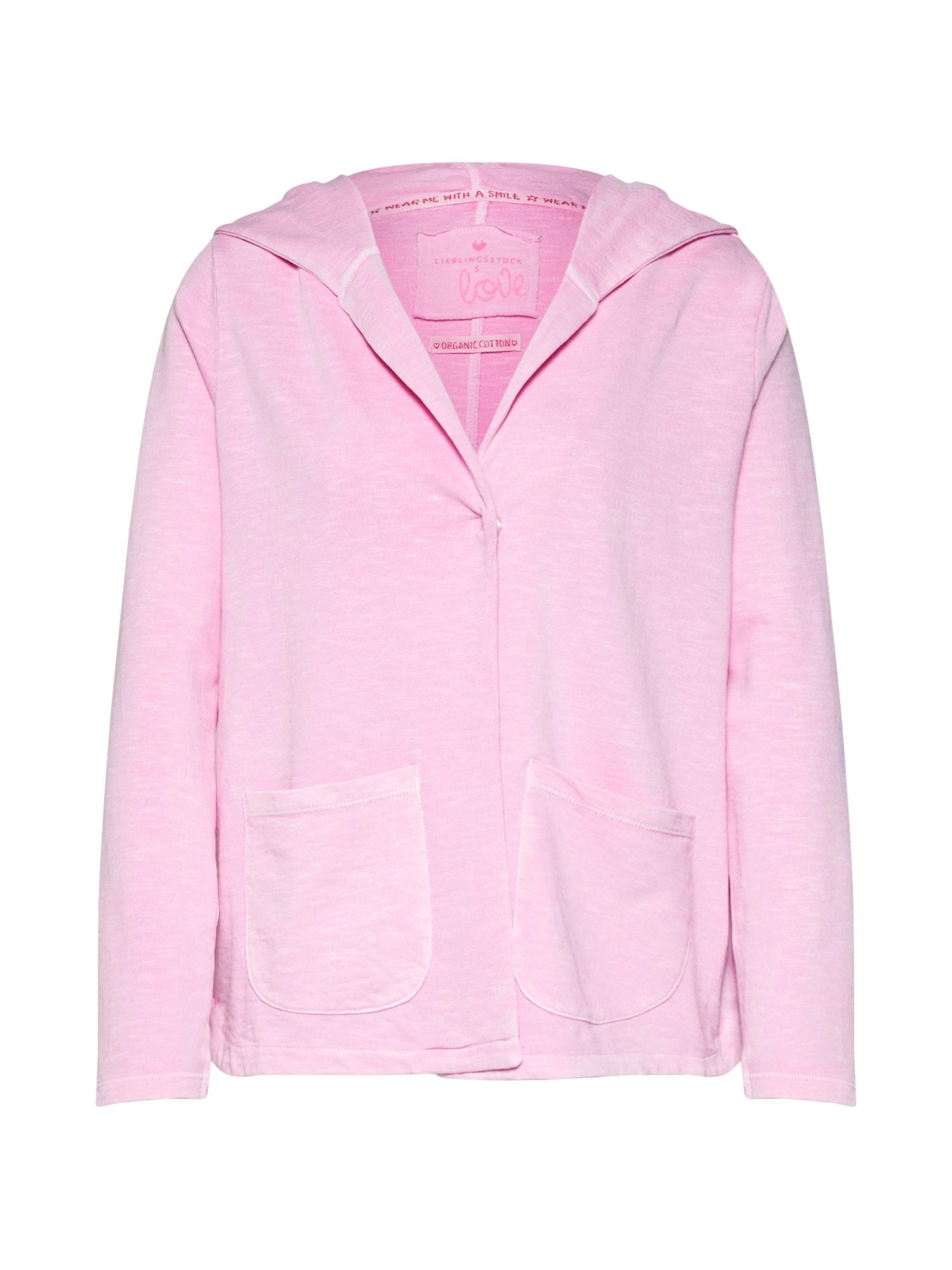 Mikina s kapucí CellyL růžová LIEBLINGSSTÜCK