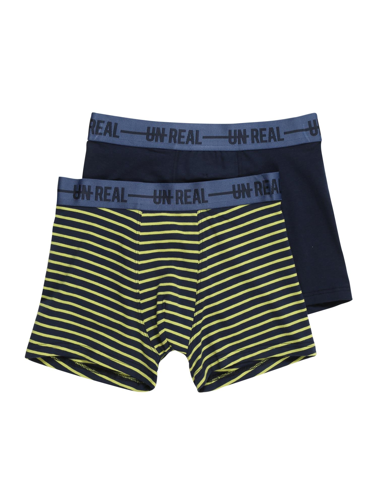Spodní prádlo modrá žlutá SANETTA
