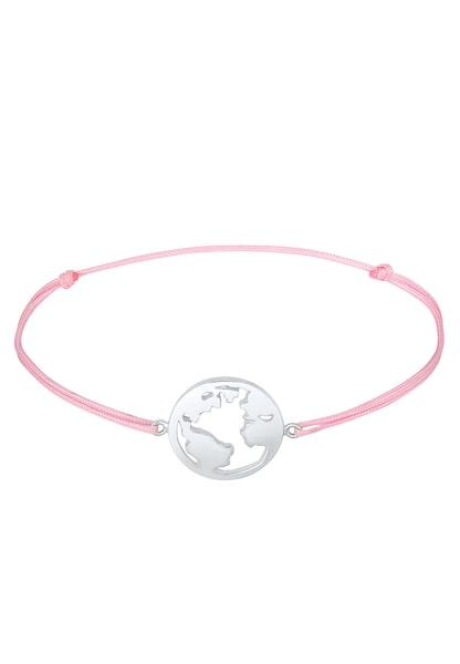 Armbaender für Frauen - ELLI Armband rosa silber  - Onlineshop ABOUT YOU