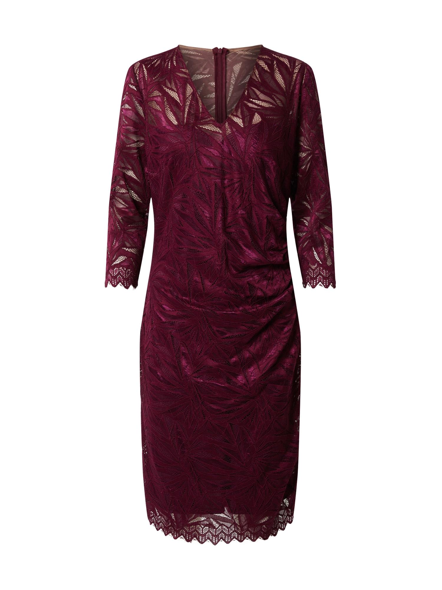 Vera Mont Suknelė vyšninė spalva