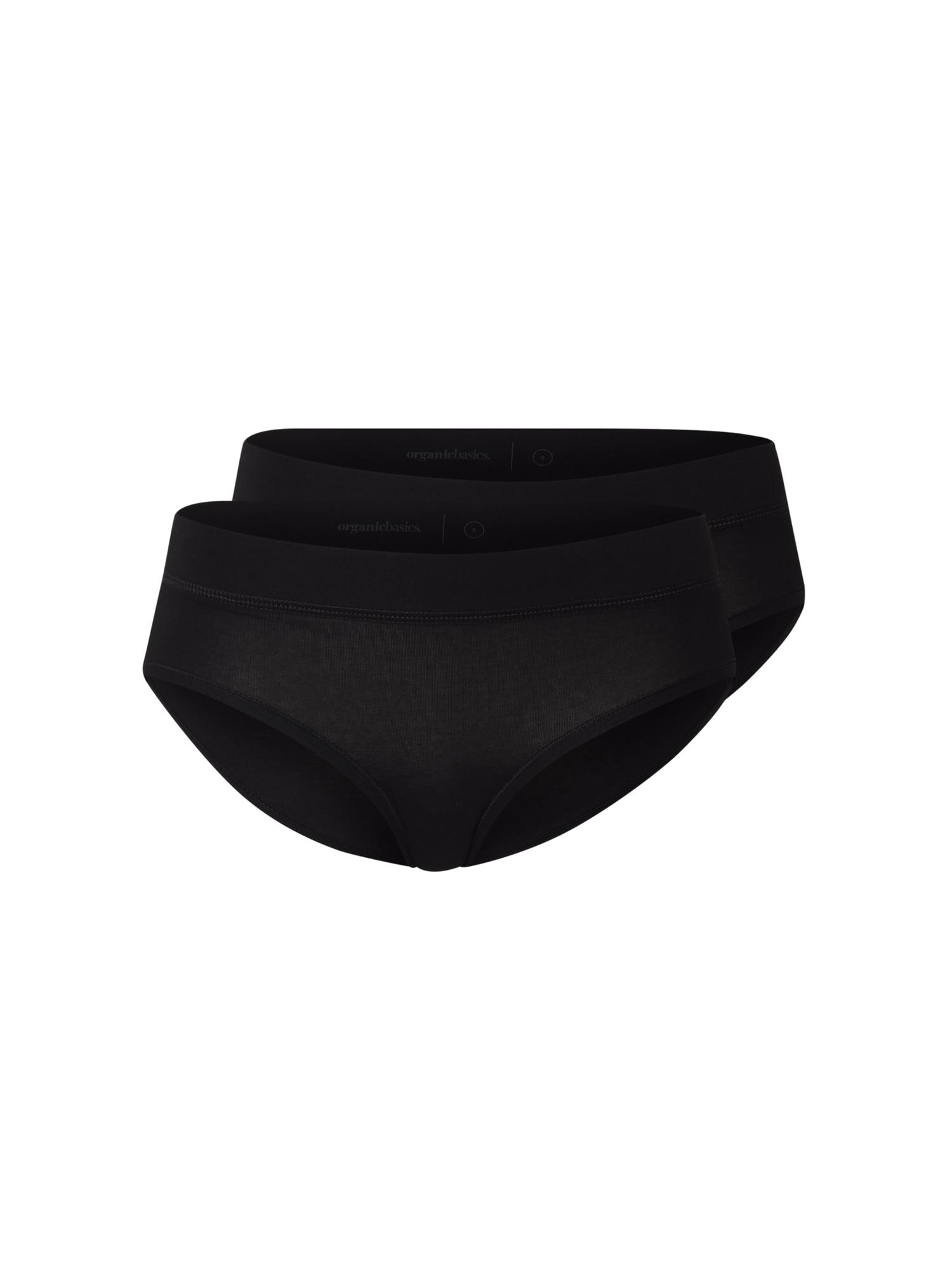 Organic Basics Moteriškos kelnaitės juoda