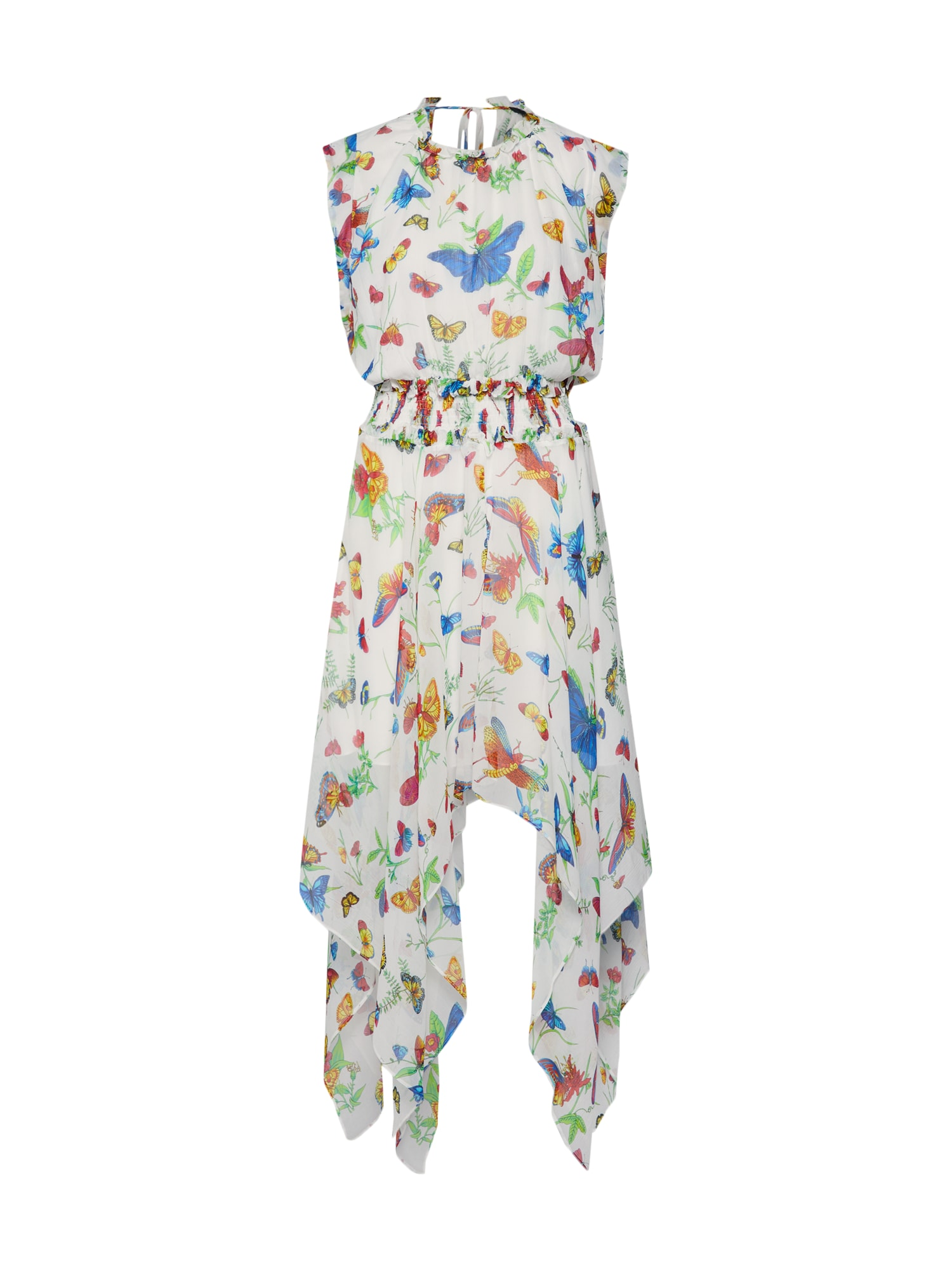 Šaty mix barev bílá The Kooples