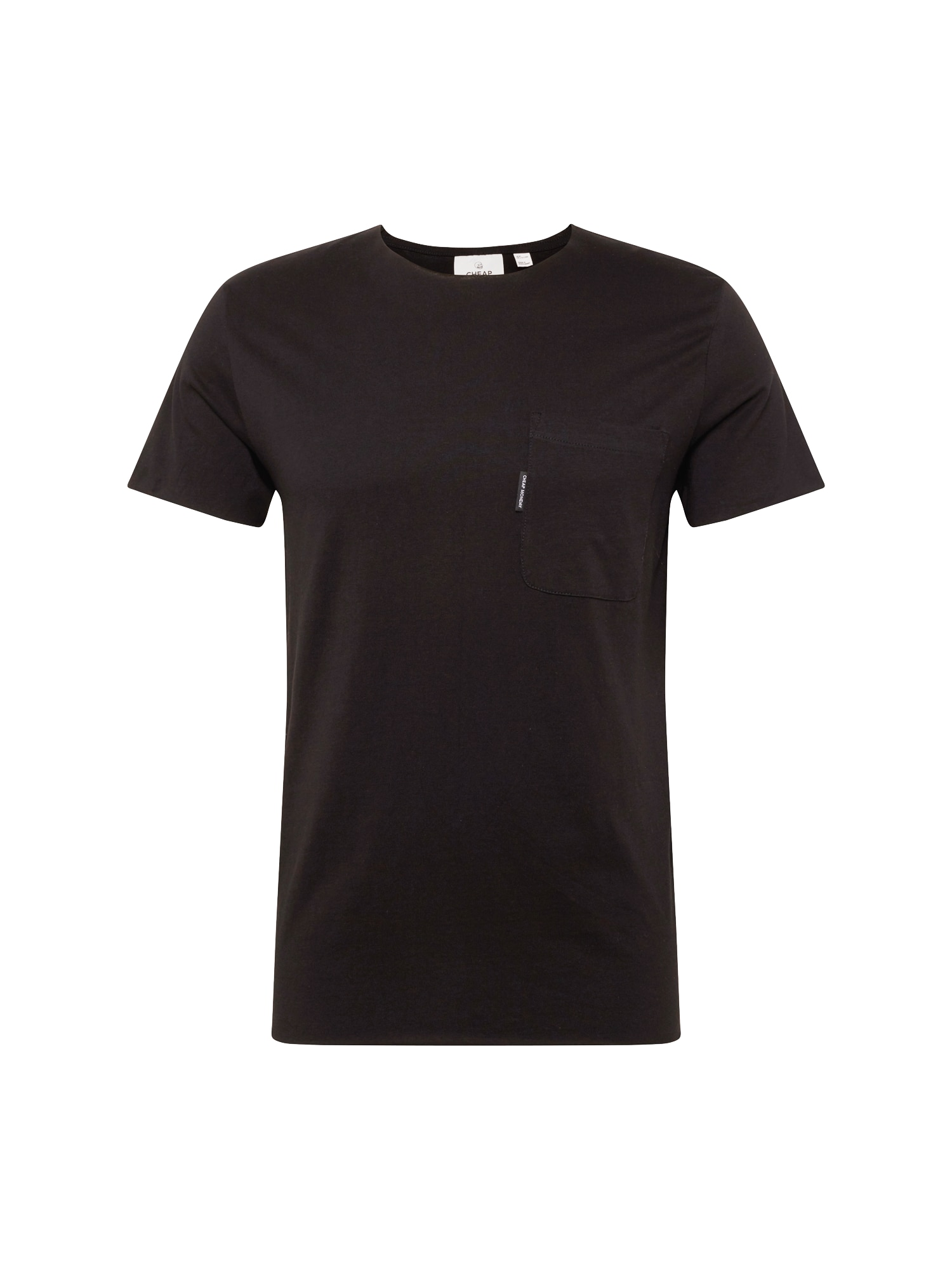 Tričko Standard edge pocket tee černá CHEAP MONDAY