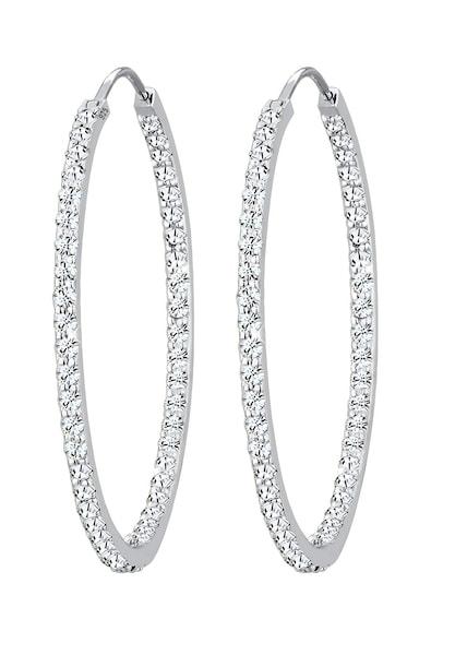 Ohrringe für Frauen - ELLI PREMIUM Ohrringe 'Kristall' silber  - Onlineshop ABOUT YOU