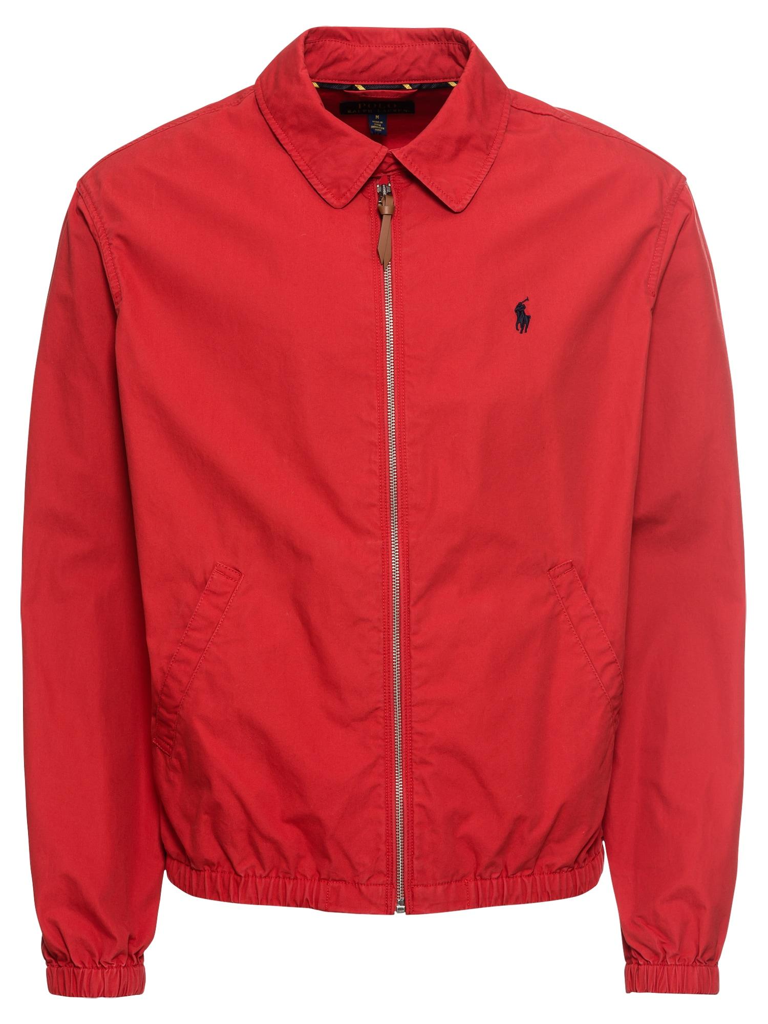 Přechodná bunda červená POLO RALPH LAUREN