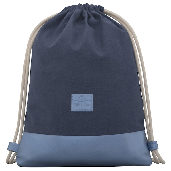 Sporttaschen für Frauen - Turnbeutel 'Luke' › Johnny Urban › blau silber  - Onlineshop ABOUT YOU