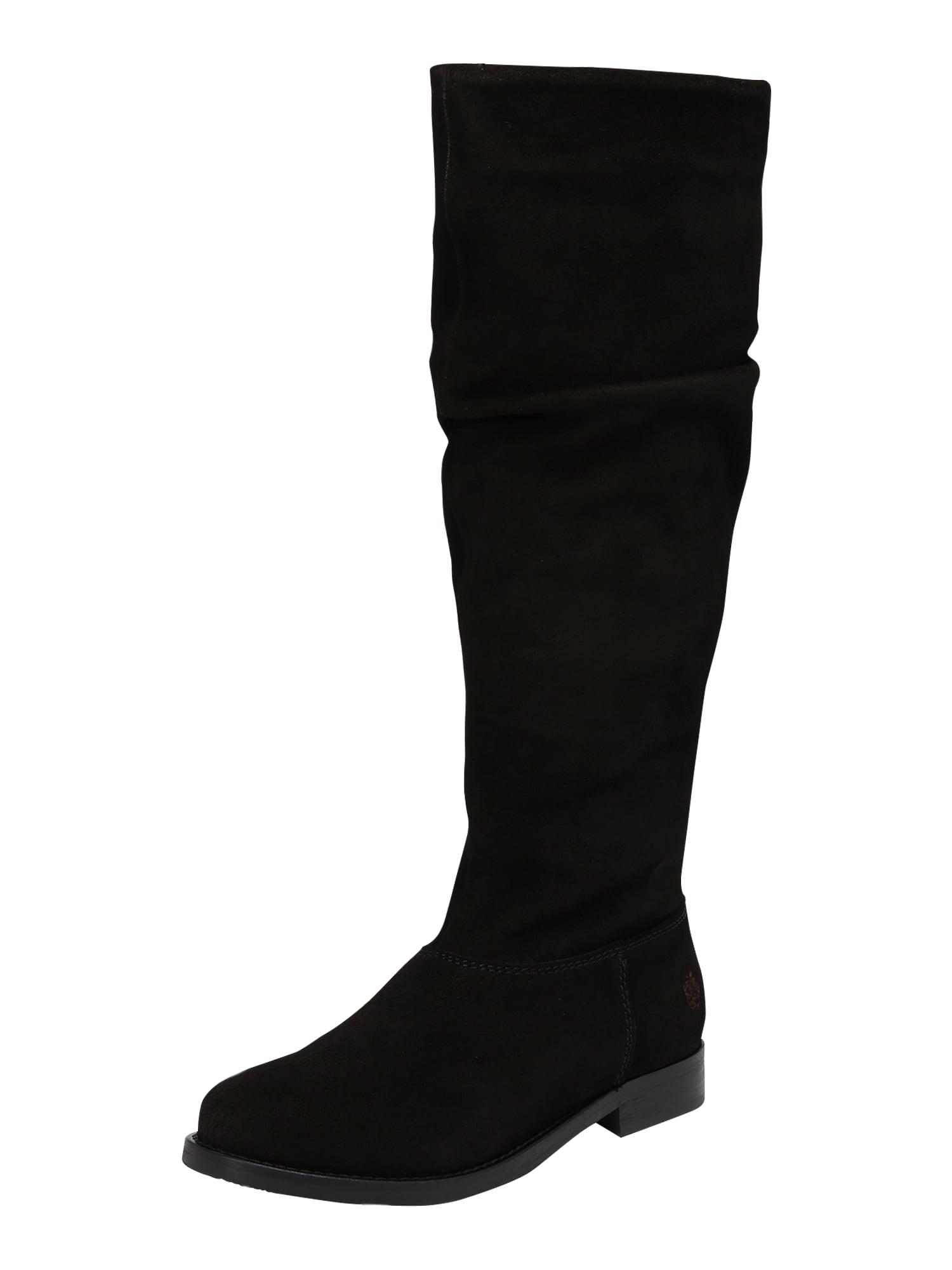 Apple of Eden Auliniai batai su kulniuku 'AW19-KIARA' juoda