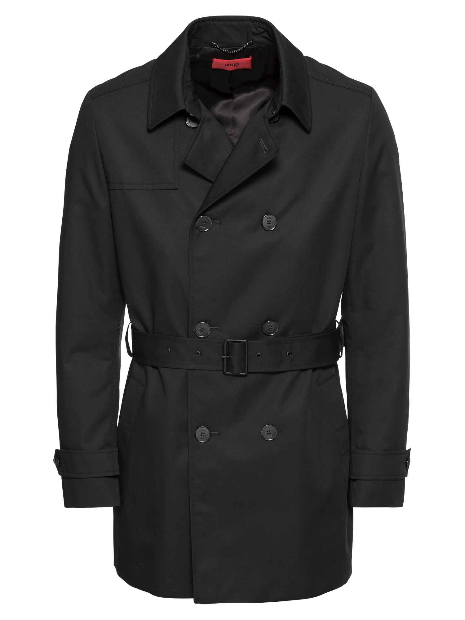 Zimní kabát Maluks1841 10110503 01 černá HUGO
