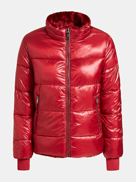 Jacken - Jacke 'Felicia Reversible' › Guess › rot  - Onlineshop ABOUT YOU