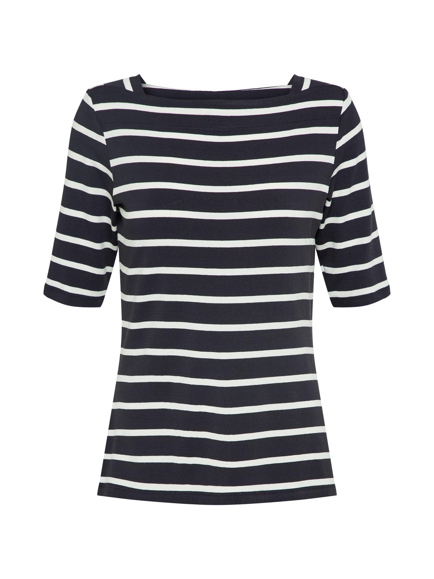 Tričko modrá bílá COMMA