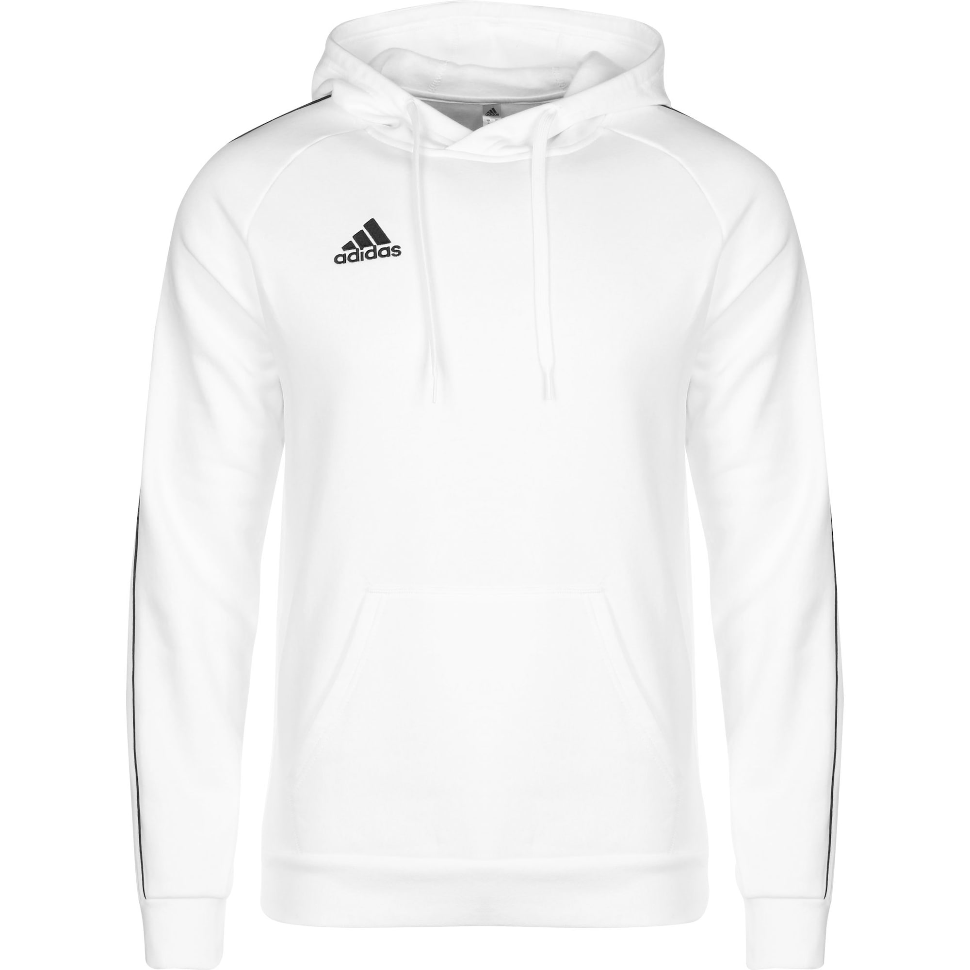 ADIDAS PERFORMANCE Sportinio tipo megztinis 'CORE 18' balta / juoda