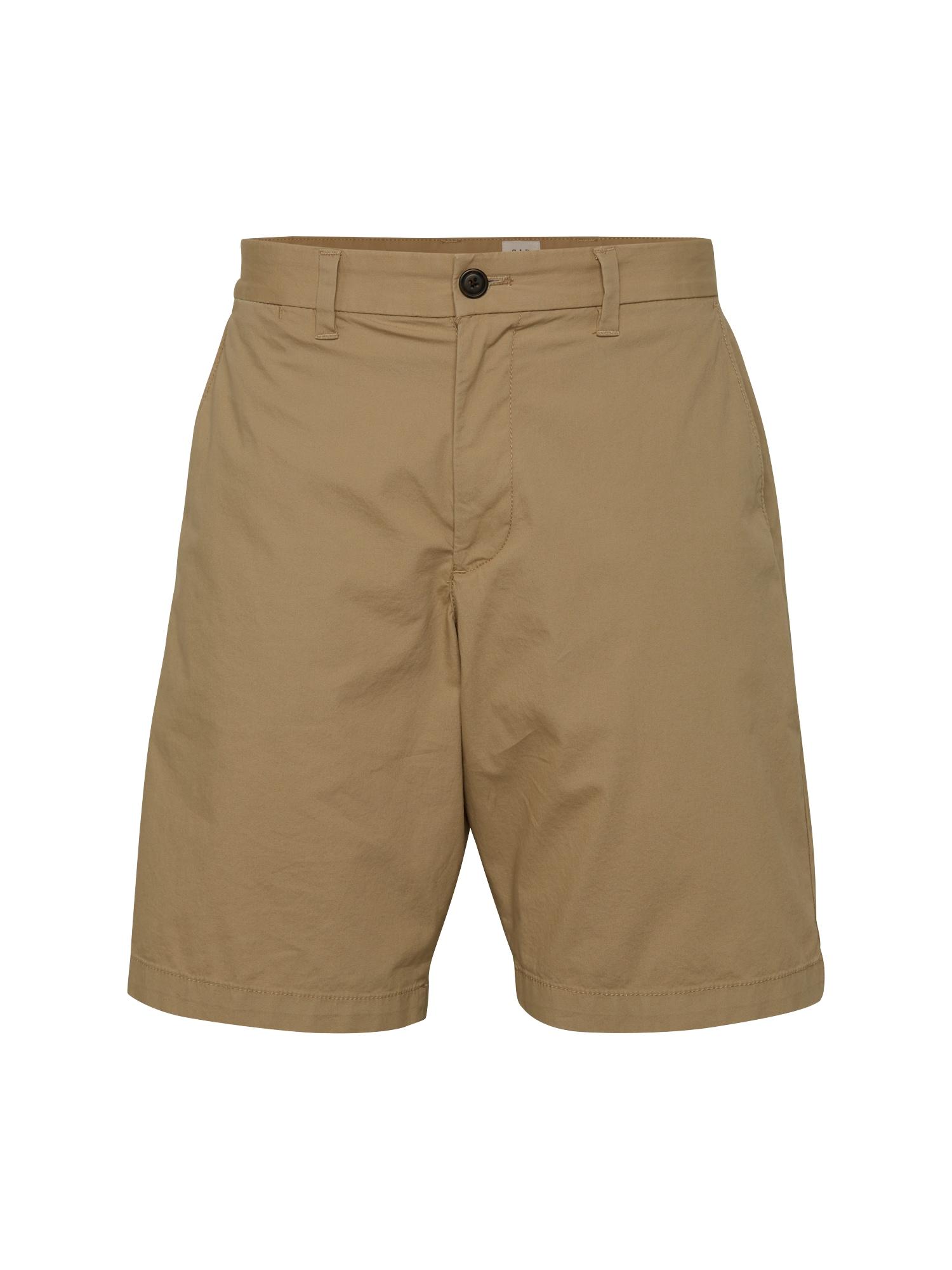 GAP Chino kalhoty 'V-10IN LIGHTWEIGHT SHORT'  velbloudí