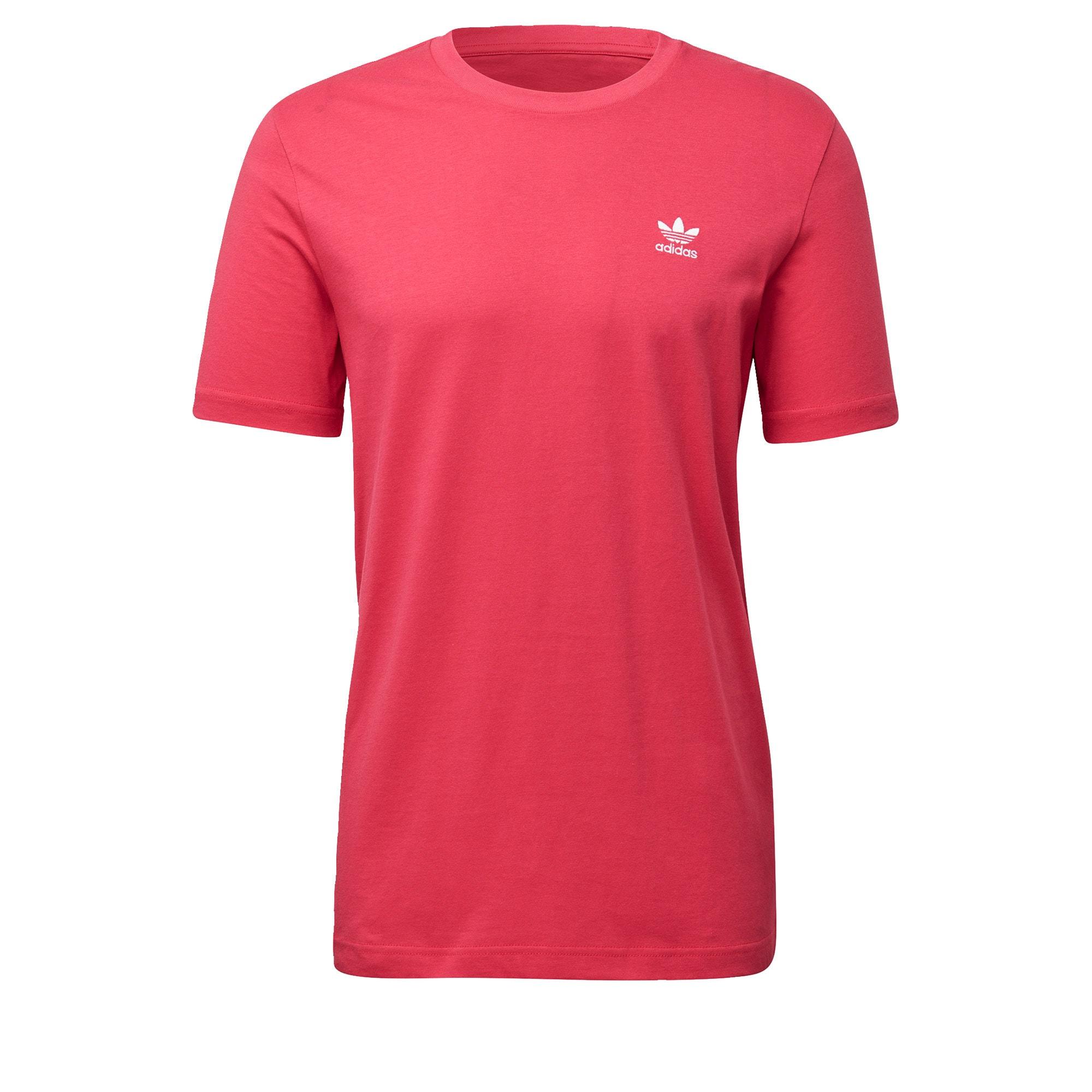 ADIDAS ORIGINALS Marškinėliai balta / rožinė