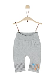 S.Oliver,S.Oliver Junior,s.Oliver Kinder,Mädchen Sweat Pants mit Print grau | 04055268437668
