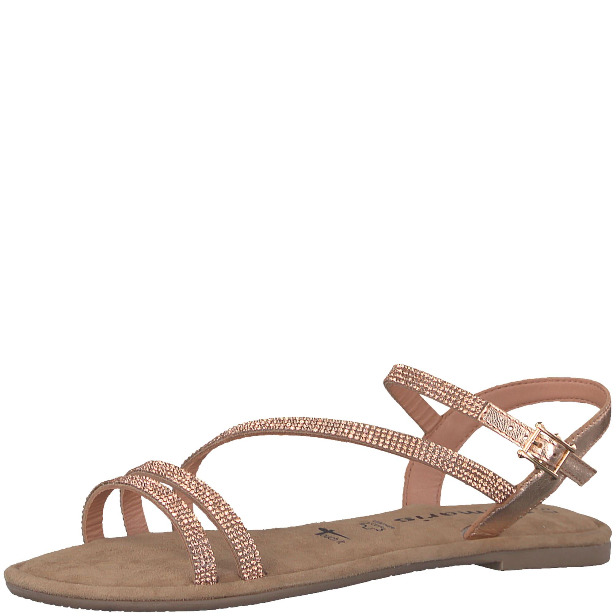 TAMARIS Remienkové sandále 'Disco'  bronzová