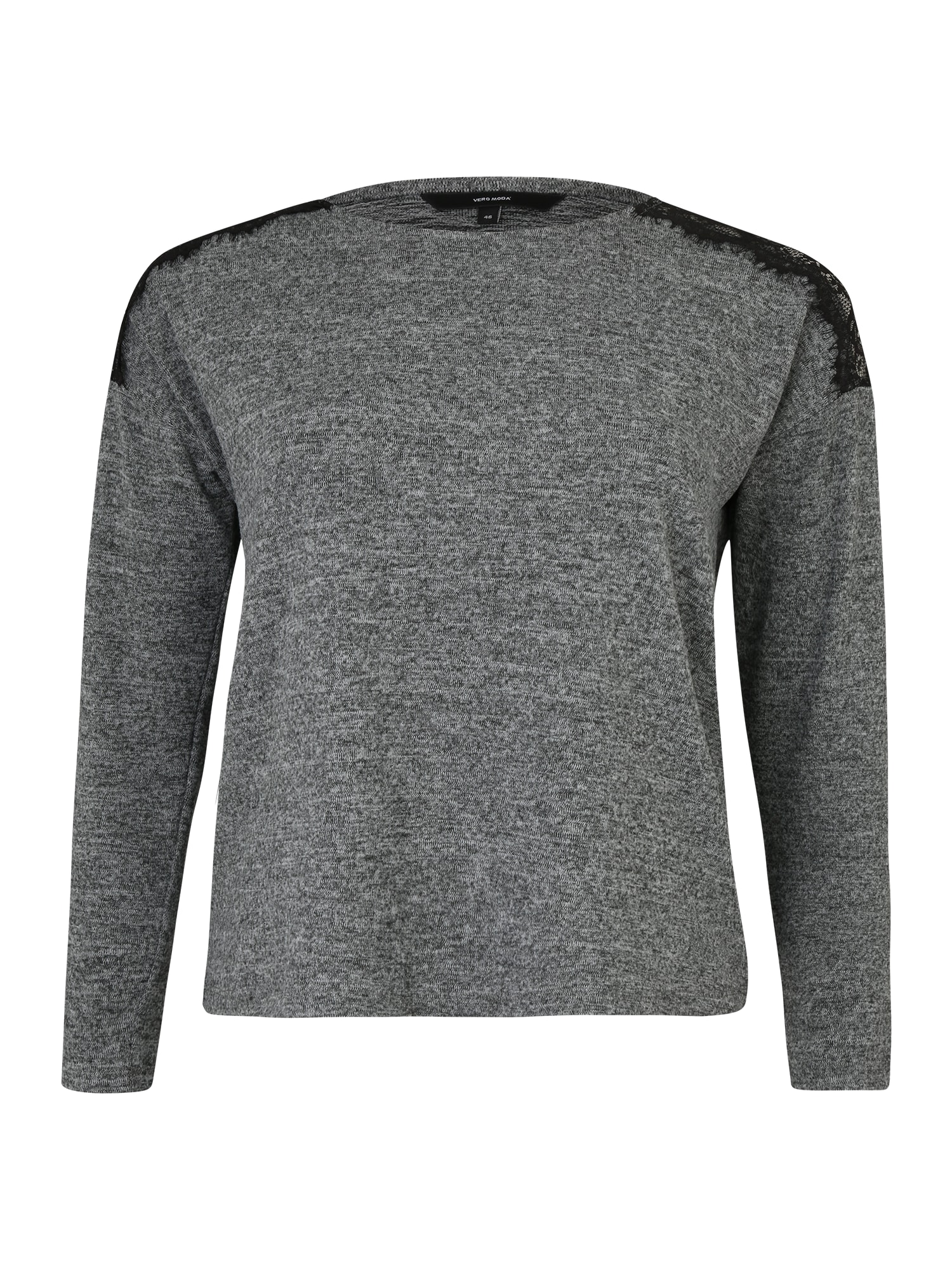 Vero Moda Curve Marškinėliai 'Malena' margai pilka