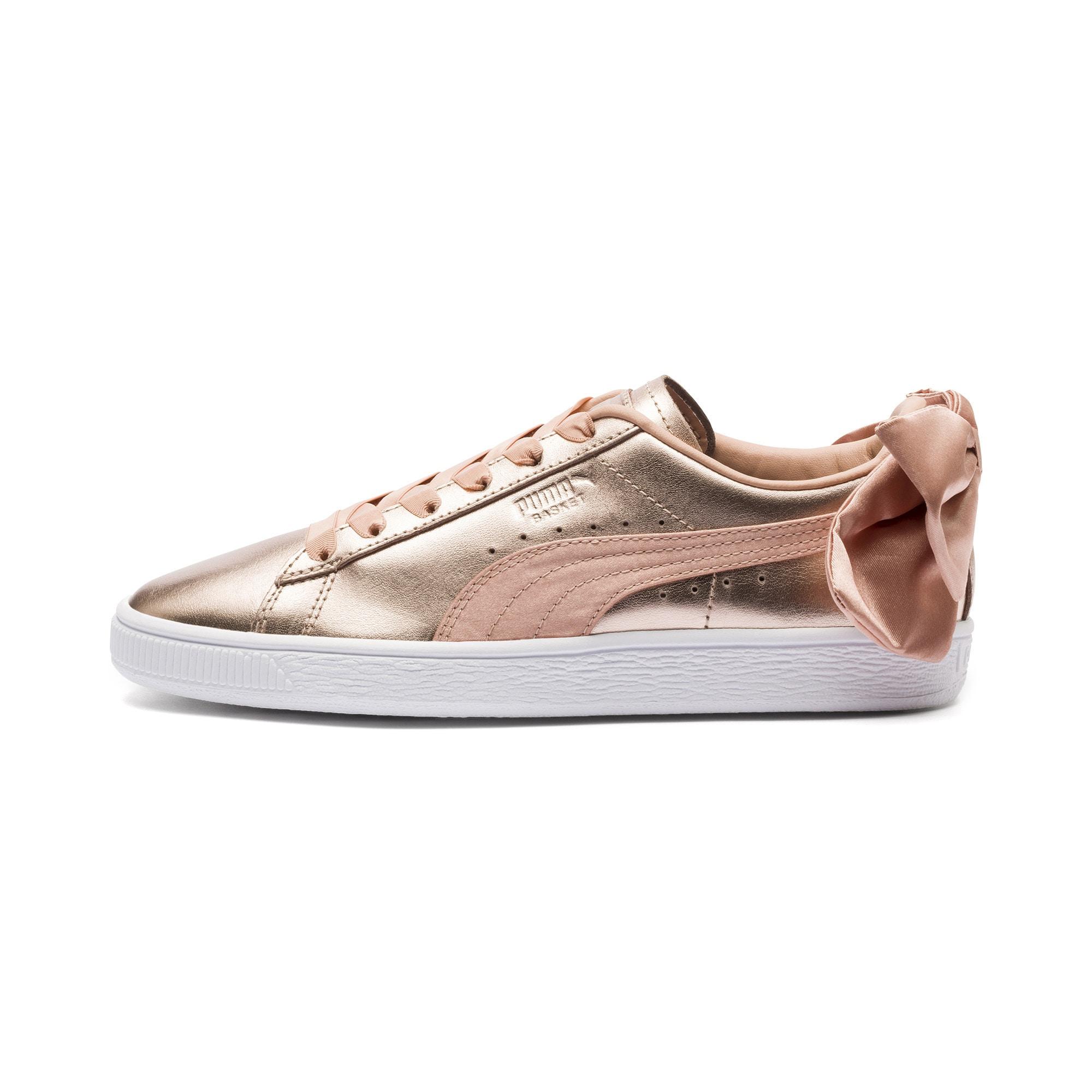 PUMA Tenisky 'Basket Bow Luxe'  růžově zlatá