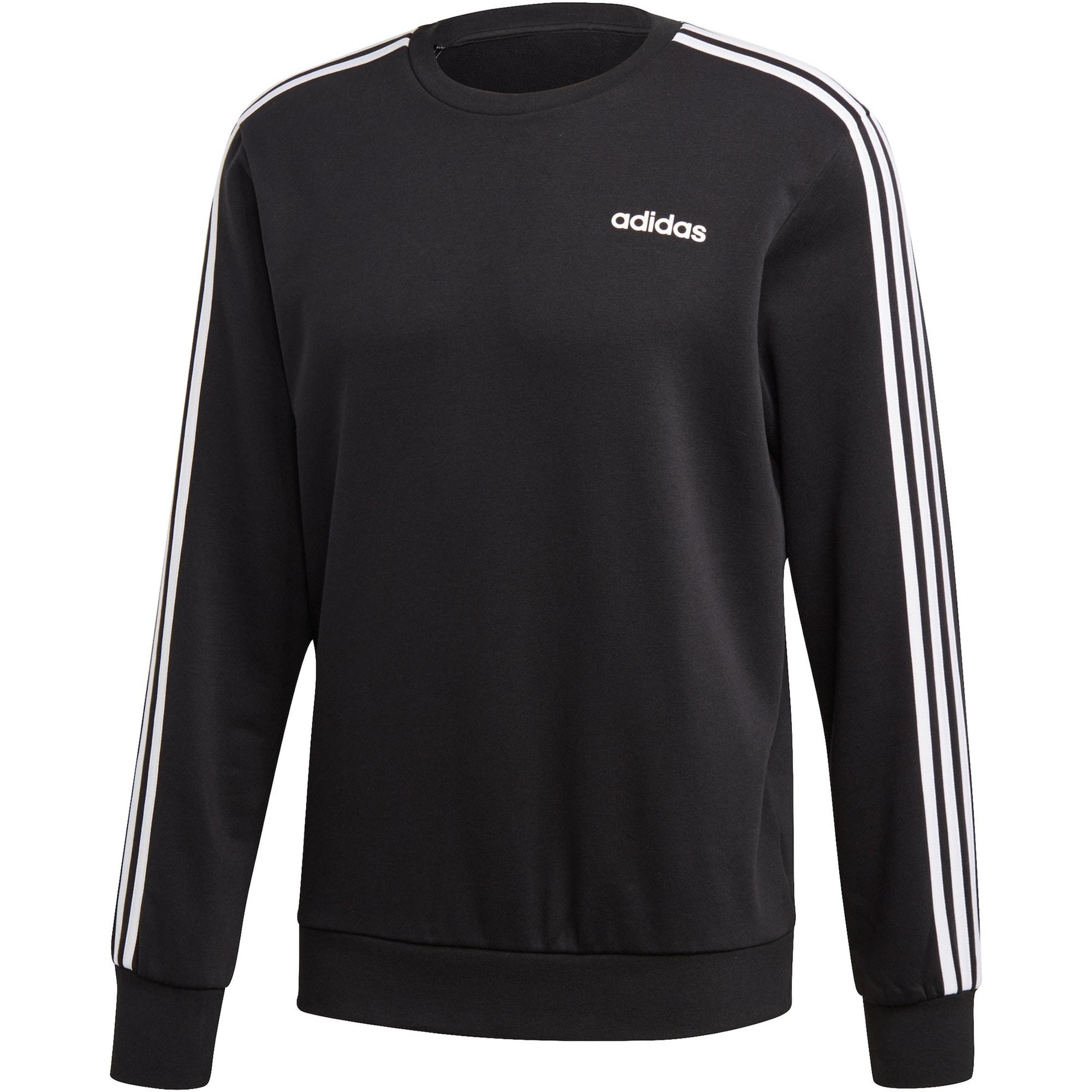 ADIDAS PERFORMANCE Sportinio tipo megztinis '3S' balta / juoda